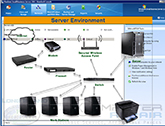 MS Windows Server, switches, firewall, security and application support for your busines in Long Island.